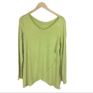 Soft Surroundings spring green tunic